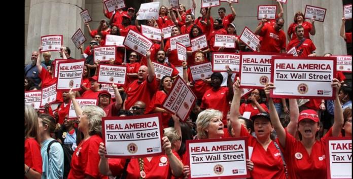 Nurses rally in Sacramento for single-payer healthcare