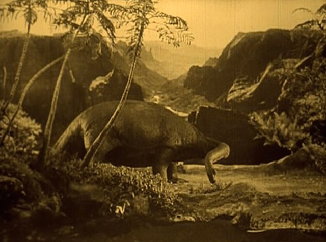From groundbreaking claymation masterpiece 'The Lost World.'