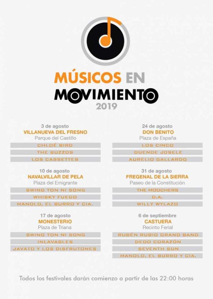 Festival Músicos en movimiento 2019