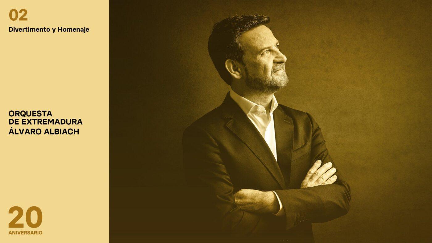Conciertos de la Orquesta de Extremadura 2020-2021 - Divertimento y Homenaje