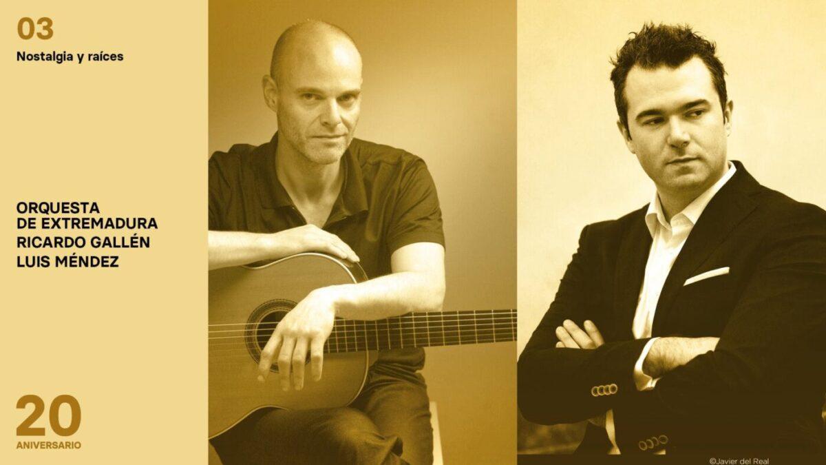 Conciertos de la Orquesta de Extremadura 2020-2021 - Nostalgia y raíces
