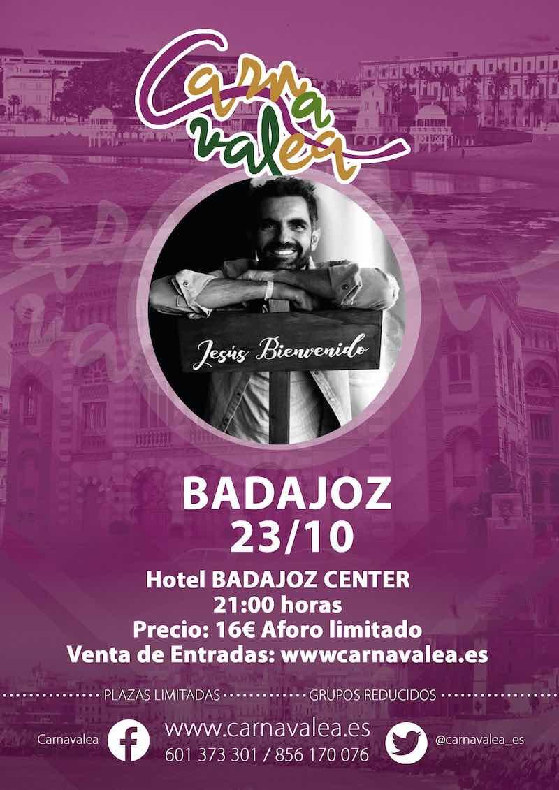 Jesús Bienvenido en Badajoz