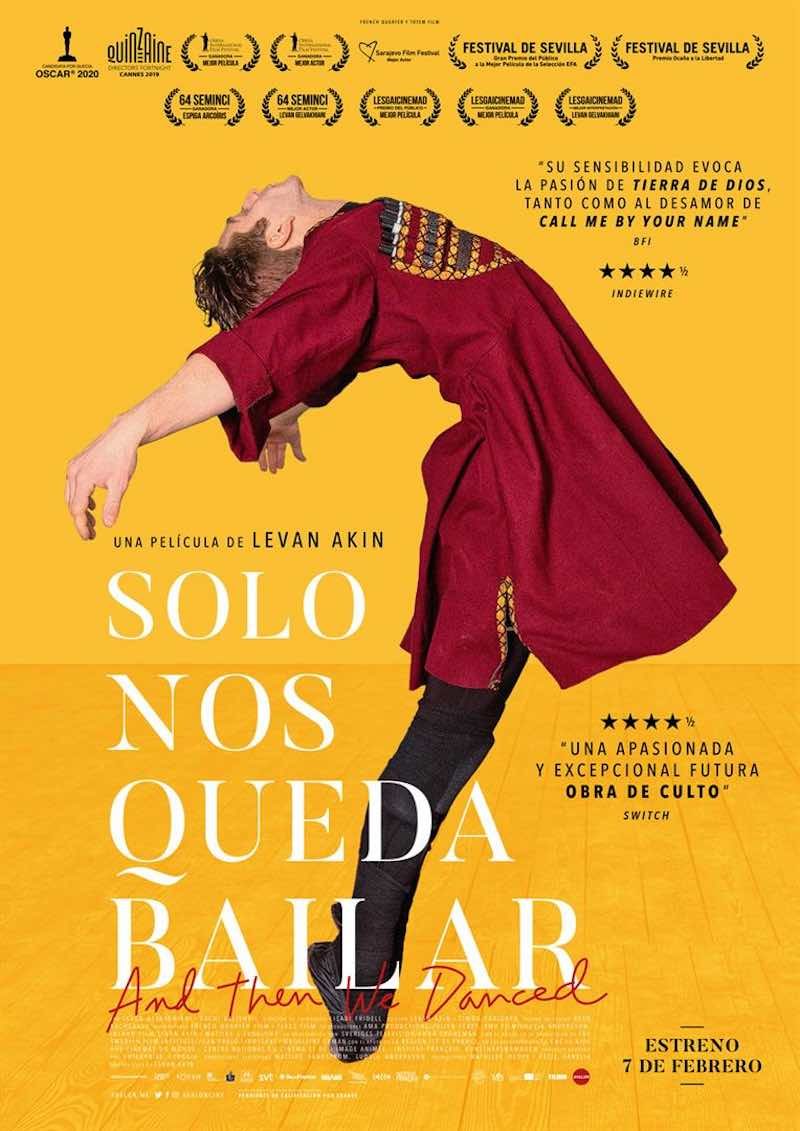 Cine Club: 'Solo nos queda bailar'