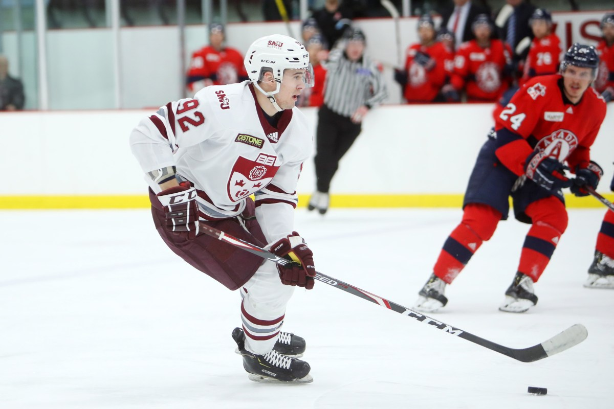 U Sports MHKY: SMU's Balmas wins rookie of the year, while season awards  are given out