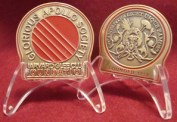 Coin-Medal in Stand