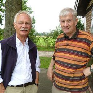 v. l. n. r.: Jürgen Vogel und Johannes Schmelter