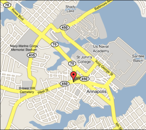 Location West Coffeehouse Winebar Gallery Annapolis - Cant find us on map