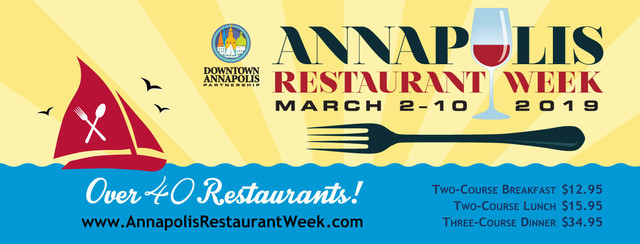 Annapolis Restaurant Week 2019
