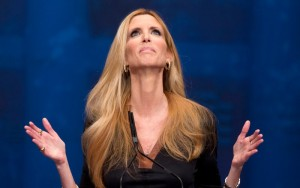 Ann Coulter, the controversial conservative pundit who aroused the ire of Jews last week when she tweeted comments perceived as antisemitic. Photo: Twitter.