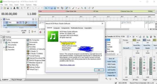ACID Music Studio 10 Screenshot