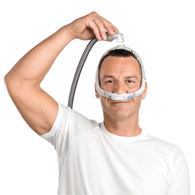resmed airfit p30i nasal pillow cpap mask with headgear starter pack