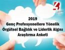 Genç Profesyoneller Örgütsel Bağlılık ve Liderlik Algısı Araştırması 2019