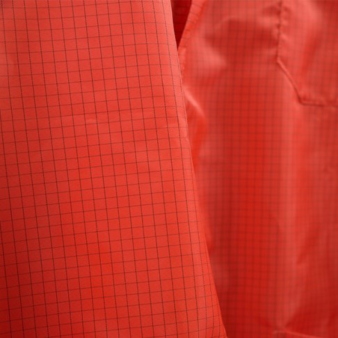 Orange Cleanroom Frock Material