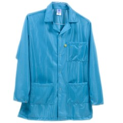 Teal Lightweight Plus ESD Smock