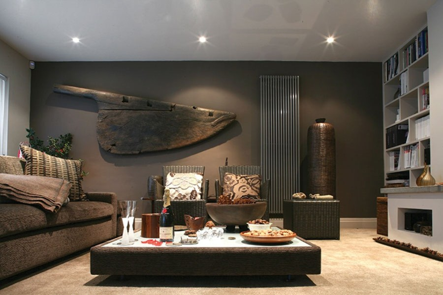 Masculine Interior Design with Imagination