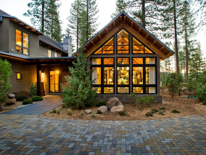 small mountain cottage plans | amazing house plans