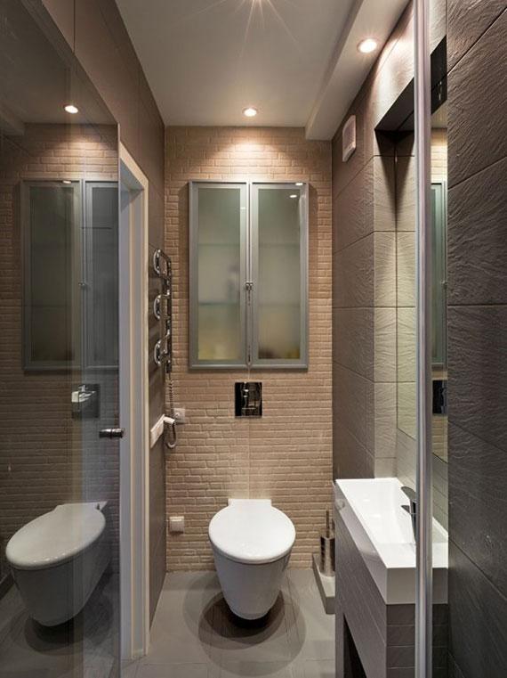 Modern Tiny Apartment Interior Design In Kiev 22 Sq
