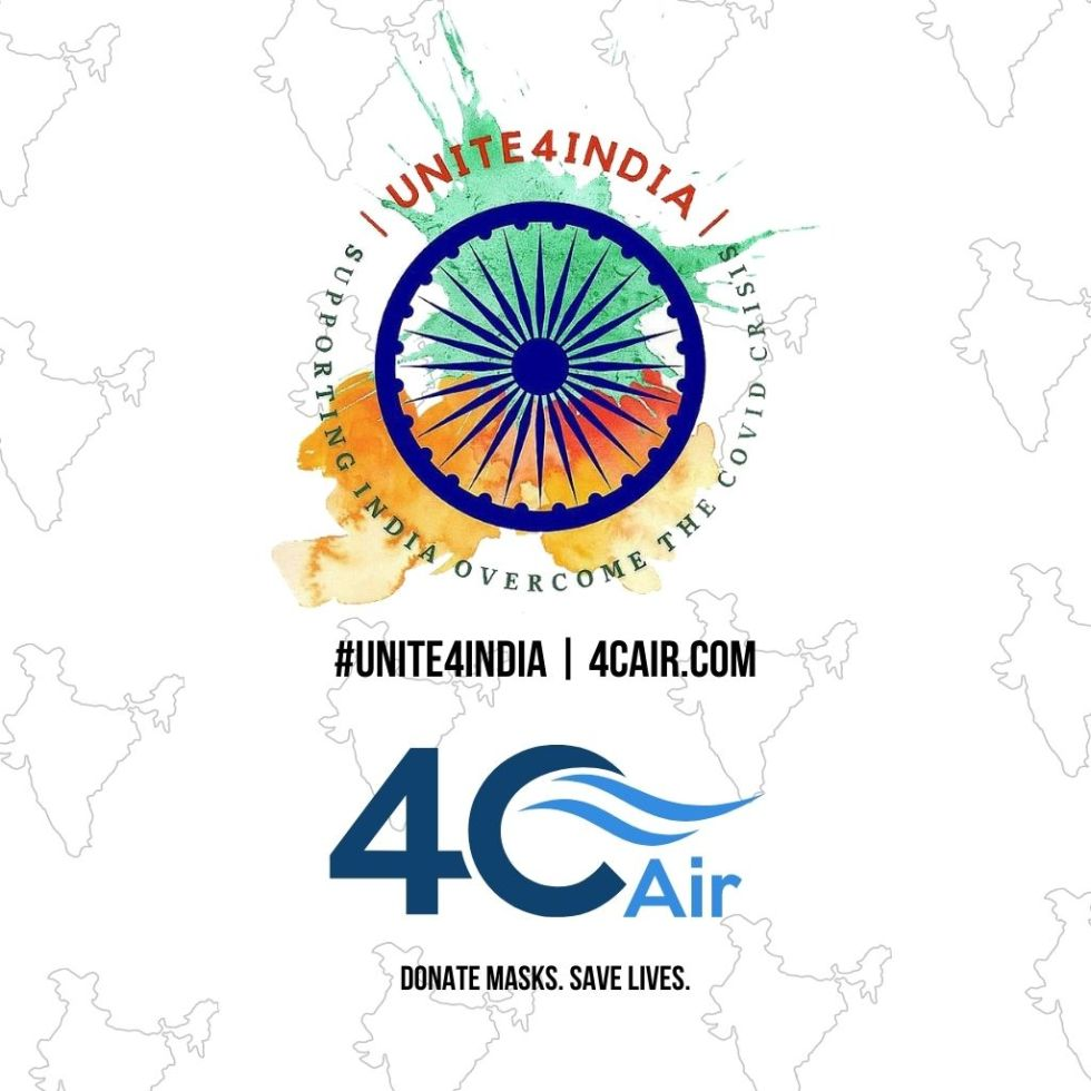 Unite4India Mask Donation Campaign 4C Air