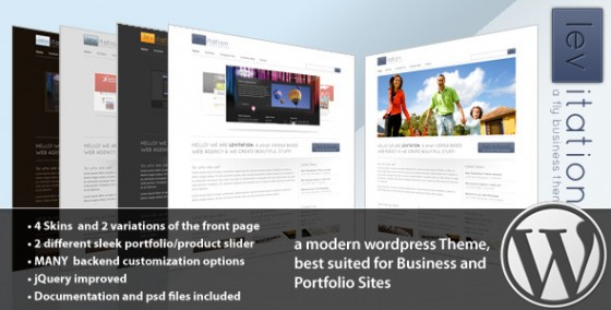 Levitation WordPress Business & Portfolio
