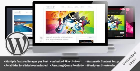 Habitat Blog and Portfolio  WordPress Theme