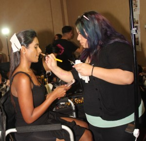 April Love Pro Makeup 4Chion Lifestyle backstage