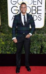 Cuba Gooding Jr. Golden Globes Red Carpet 4Chion Lifestyle