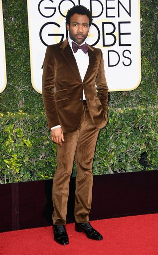 Donald Glover Gucci Golden Globes Award 4Chion Lifestyle