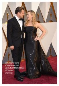 Leonardo Decaprio Kate Winslet 4chion Lifestyle Oscars red carpet