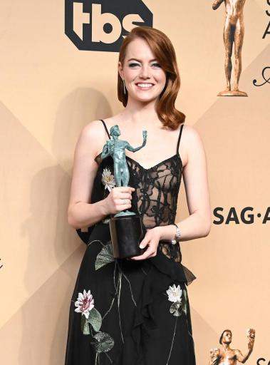 Emma Stone SAG Award Winner LA LA Land 4Chion Lifestyle