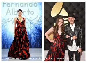 Joy Huerta Red Carpet Wearing Fernando Alberto 4Chion Lifestyle