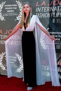 Grace Wethor Vogue La Jolla Fashion Film Festival Red Carpet Tammy Forchion LJFFF 4Chion Lifestyle
