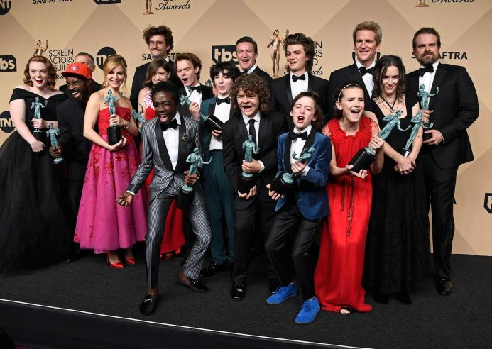 Stranger Things SAG Award recipents 4chion lifestyle