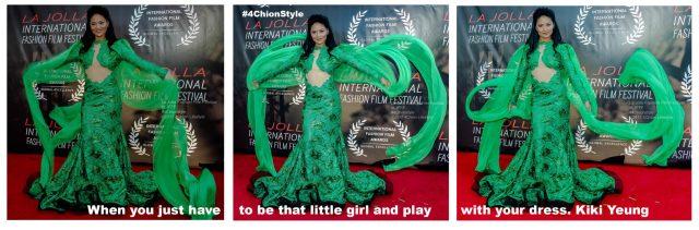 Kiki Yeung La Jolla Fashion Film Festival 4Chion Lifestyle dress play