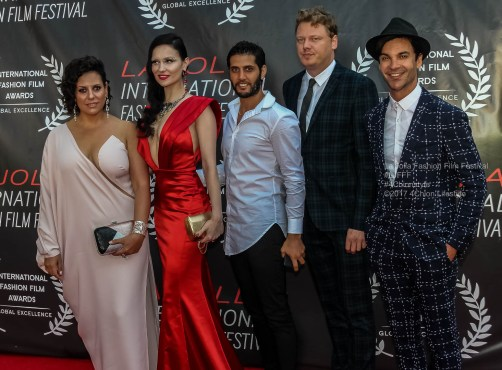 Robots Crew La Jolla Fashion Film Festival Red Carpet 4Chion Lifestyle