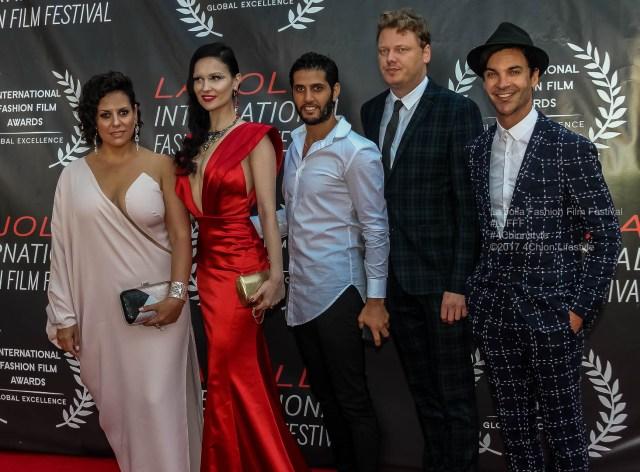 Robots Crew La Jolla Fashion Film Festival Red Carpet 4Chion Lifestyle