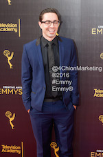 James Pierce Connelly Emmy's Creative Arts 2016 Red Carpet 4chion Lifestyle