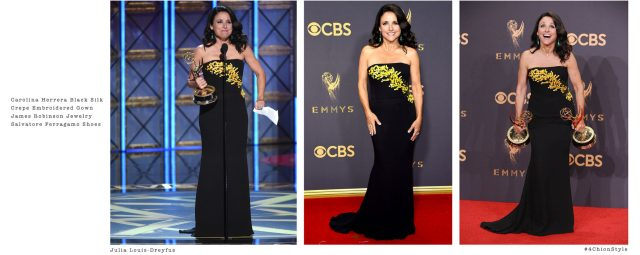 Julia Louis-Dreyfus Emmys 4Chion Lifestyle Styling