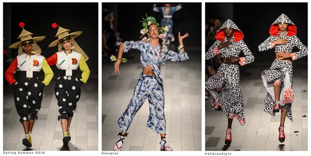 NYFW Spring Summer 2018 Desigual 4Chion Lifestyle
