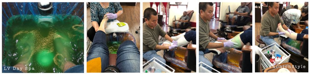 LV Day Spa Nails Feet 4Chion Lifestyle