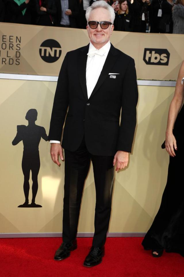 Bradley Whitford red carpet SAG Awards 4Chion Lifestyle