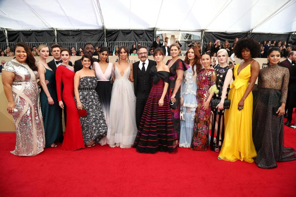 Cast of 'Glow' red carpet SAG Awards 4Chion Lifestyle