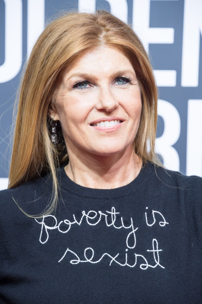 Connie Britton attends the 75th Annual Golden Globes Awards 4chion lifestyle