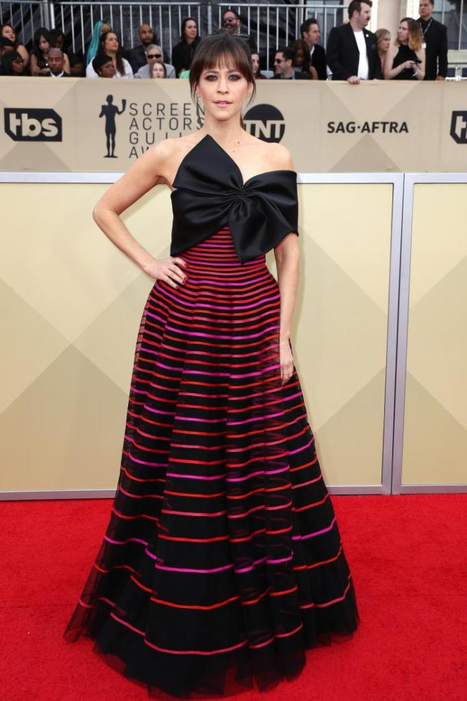 Jackie Tohn red carpet SAG Awards 4Chion Lifestyle
