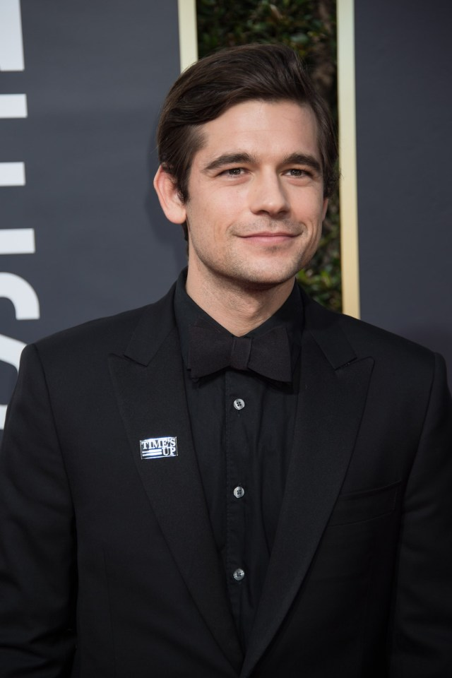 Jason Ralph arrives at the 75th Annual Golden Globe Awards 4chion lifestyle