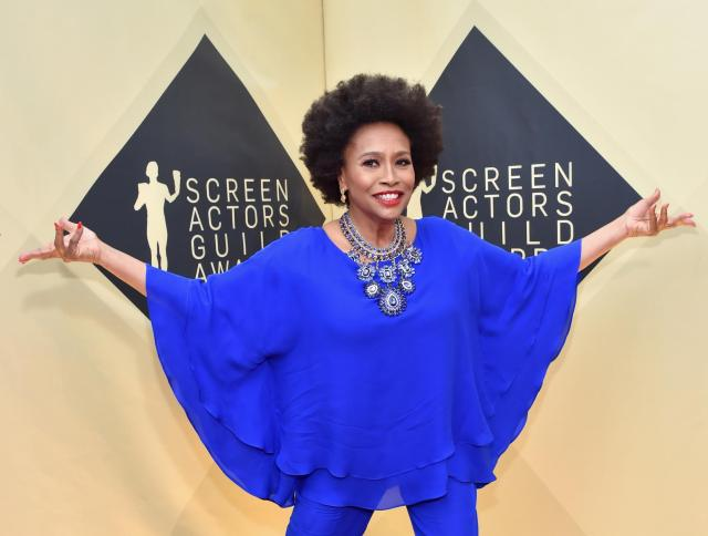Jenifer Lewis red carpet SAG Awards 4Chion Lifestyle