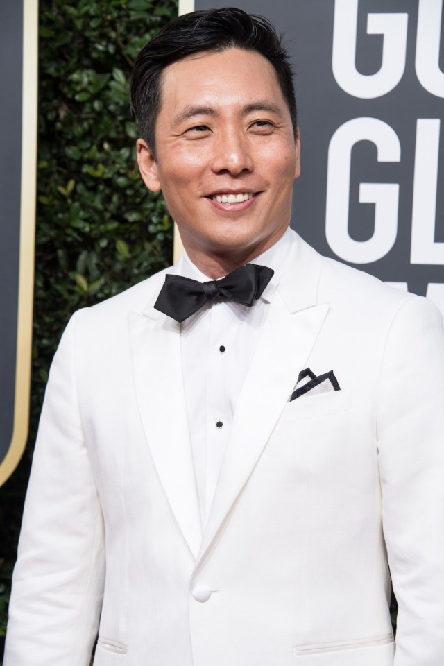 Actor Kelvin Yu attends the 75th Annual Golden Globes Awards 4chion lifestyle