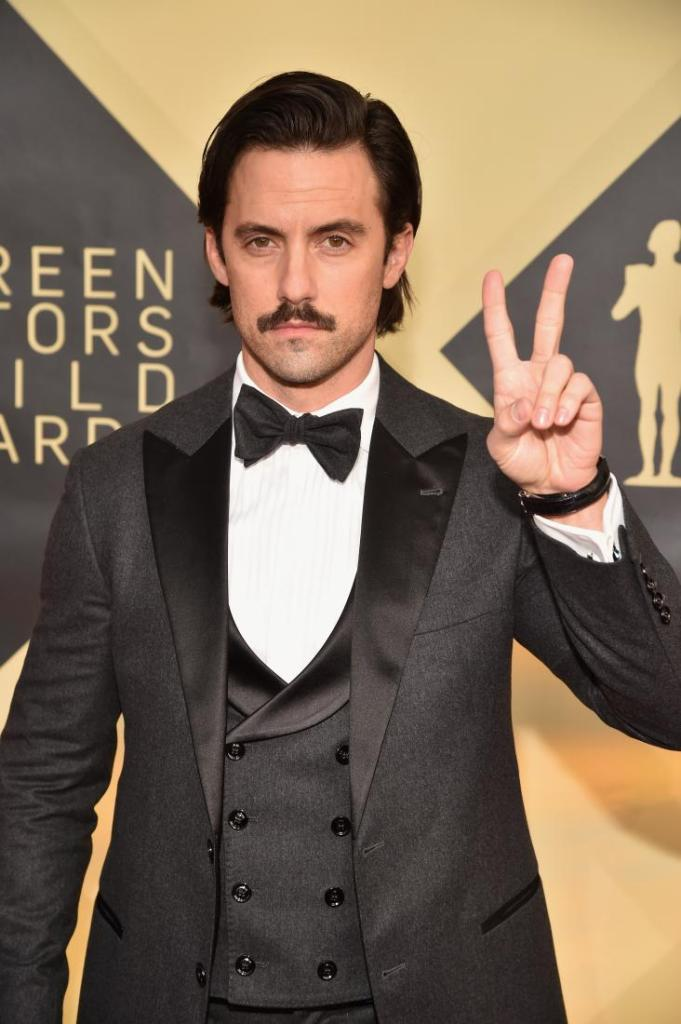 Milo Ventimiglia red carpet SAG Awards 4Chion Lifestyle