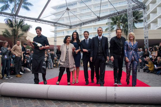 Red Carpet Rollout for the 75th Golden Globe Awards