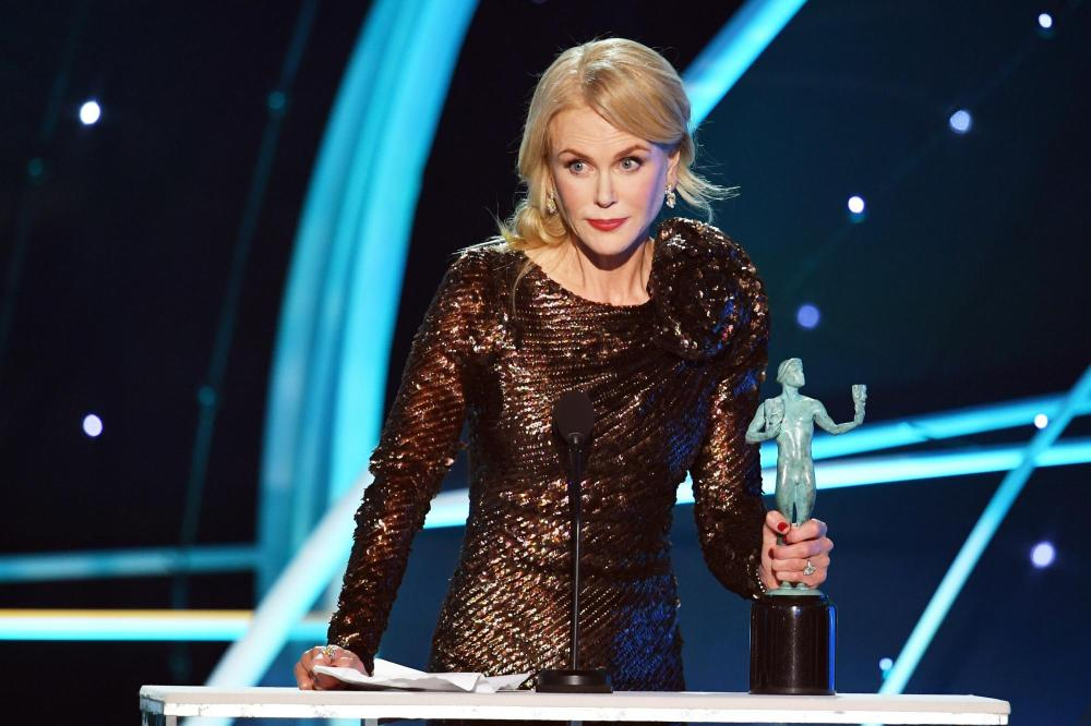 Nicole Kidman Big Little Lies recipient SAG Awards 4Chion Lifestyle a