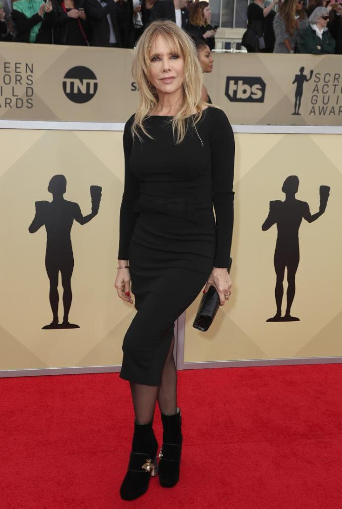 Rosanna Arquette red carpet SAG Awards 4Chion Lifestyle